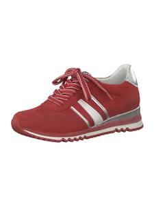 MARCO TOZZI Sneaker rot / silber