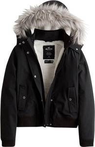 HOLLISTER Jacke schwarz