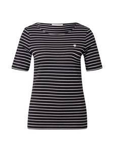 Marc O''Polo Shirt schwarz / weiß