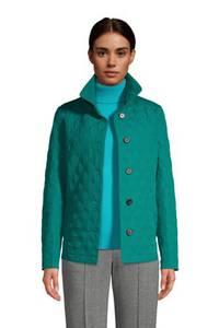 Steppjacke PRIMALOFT mit Packbeutel, Damen, Größe: XS Normal, Grün, Polyester, by Lands'' End, Jade Smaragd