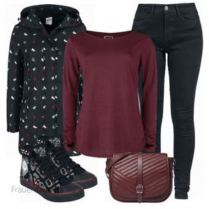 Winterliches Outfit für die Freizeit FrauenOutfits.ch