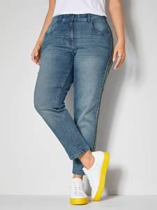 Jeans Janet & Joyce Blue stone/Gelb