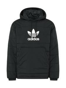ADIDAS ORIGINALS Jacke schwarz / weiß