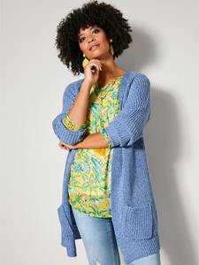 Strickjacke blau/weiß Angel of Style