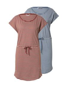 ONLY Kleid ''MAY'' blau / dunkelrot / weiß