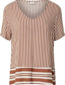 JACQUELINE de YONG Shirt ''TIFFANY'' offwhite / braun