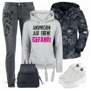 Einzigartiges  Freizeit Outfit FrauenOutfits.ch