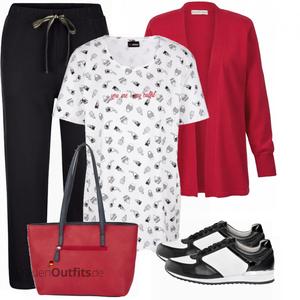 Freizeit Outfit für Mollige FrauenOutfits.de