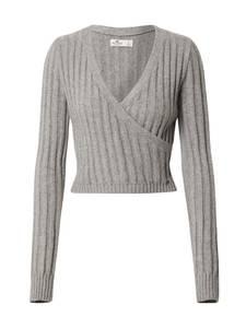 HOLLISTER Pullover grau