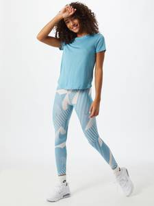 NIKE Leggings ''Fast'' grau / blau