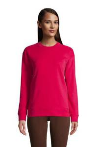 Sweatshirt, Damen, Größe: L Normal, Blau, Jersey, by Lands'' End, Cool Kobalt
