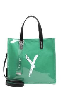 Suri Frey Shopper '' Lizzy '' grün / schwarz / weiß