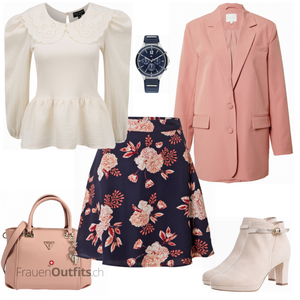 Florales Businessoutfit FrauenOutfits.ch