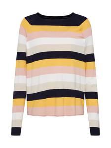 ONLY Pullover ''onlTERESA'' nachtblau / gelb / rosa