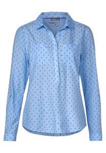 STREET ONE Bluse blau / himmelblau