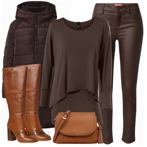 Elegantes Winter Outfit FrauenOutfits.ch
