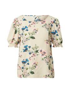 OBJECT Bluse rosé / grün / blau / hellgelb