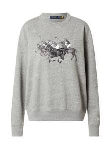 Polo Ralph Lauren Sweatshirt graumeliert / schwarz