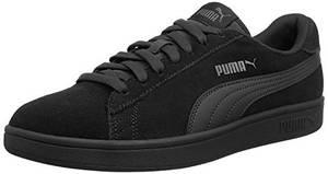 Puma Unisex-Erwachsene Puma Smash v2 Sneakers, Schwarz (Puma Black-Dark Shadow), 43 EU