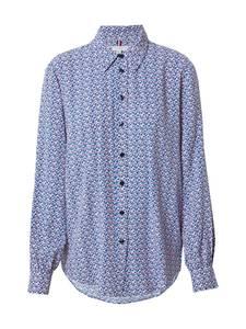 TOMMY HILFIGER Bluse pink / blau