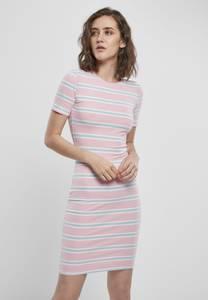 Urban Classics Kleid rosa / opal / weiß