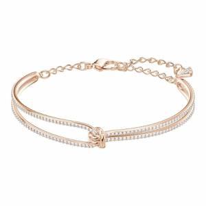 Swarovski Lifelong Crystal Armband  (Lengte: 18.50 cm) - Roségoud