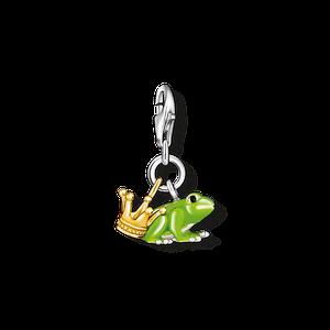 THOMAS SABO Charm-Anhänger Froschkönig braun-glänzend 0931-427-6