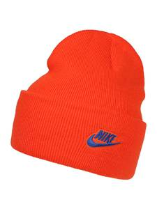 Nike Sportswear Mütze ''U NSW CUFFED BEANIE UTILITY'' blau / dunkelorange