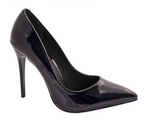Elara Spitze Damen Pumps Stilettos High Heels Chunkyrayan 66-10-A-Dunkelblau-35