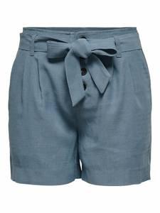 ONLY Shorts violettblau