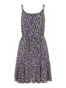 PIECES Kleid schwarz / weiß