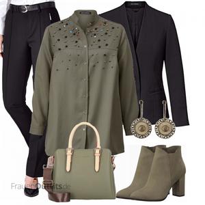 Business Outfit für Mollige FrauenOutfits.de