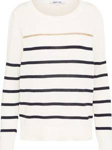 ABOUT YOU Pullover ''Meike'' dunkelblau / weiß