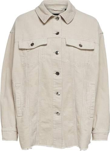 - Corduroy shirt - Knoopsluiting de voorkant - 2 steekzakken - 2 borstzakken - Lange mouwen met sluitknoop onderaan - Lengte: 73 cm in maat M - 0