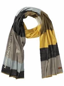 CAMEL ACTIVE Schal gelb / grau / schwarz