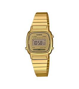 Casio Collection Damen Retro Armbanduhr LA670WEGA-9EF