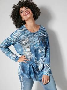 Feinstrickshirt blau Angel of Style