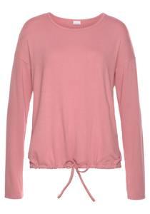 LASCANA Pyjama Oberteil rosa