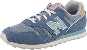 new balance Sneaker rauchgrau / weiß / rauchblau