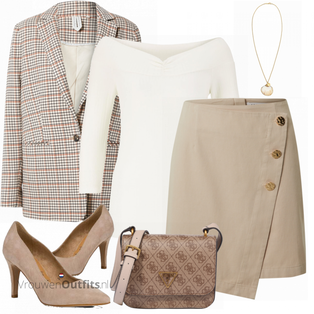 Elegante lente outfit VrouwenOutfits.nl