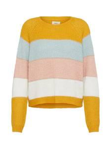 ONLY Pullover hellblau / goldgelb / rosa / weiß