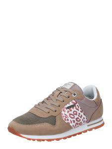 Pepe Jeans Sneaker ''VERONA'' dunkelbeige / weiß / altrosa / pitaya