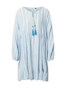 Zwillingsherz Kleid ''Nala'' weiß / hellbraun
