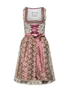 MARJO Kleid ''Forenda'' beige / grau / rosa