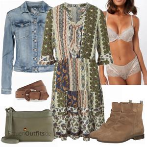 Schönes Freizeit Outfit FrauenOutfits.de