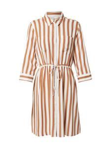 ONLY Blusenkleid braun / beige