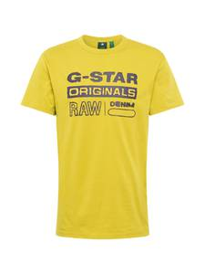 G-Star RAW T-Shirt goldgelb