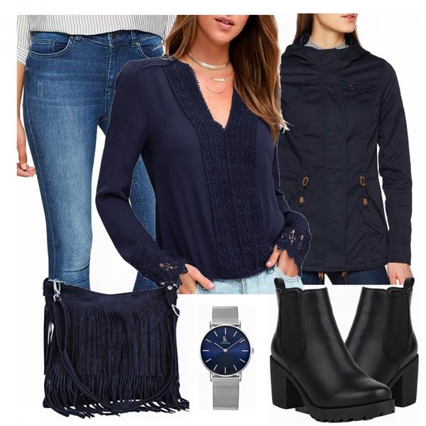 Blau Look FrauenOutfits.de