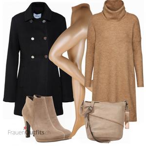 Trendiger Winterlook FrauenOutfits.ch
