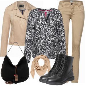Outfit in herbstlichen Farben FrauenOutfits.ch